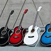 ►小麥老師◄(全新現貨 出貨前調音檢查) 40吋初學款吉他 民謠吉他 缺角 6色可選