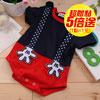 魔法Baby嚴選夏季短袖連身包屁衣,亮麗俏皮又可愛舒適的布料涼爽吸汗,讓小寶貝有最舒服的貼身穿著