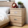 簡約的二抽床頭櫃,呈現出極簡的日系風格,二抽實用收納,可將常用的物分類擺放,輕鬆的打造小資生活。