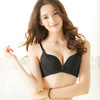 ◆下厚上薄成型棉,胸部托高上挺 ◆副乳側包片設計,加強側壓集中◆寬穩M型美背,包覆後背肉肉