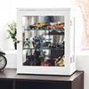 公仔收藏 酒櫃 北歐★結構穩固★雙層玻璃隔板
