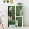 書架 雜誌架 置物櫃 收納櫃★簡單方便各個空間都可使用★背板為崁入設計更加堅固★防刮加厚貼邊
