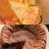 ★大人気原味和使用100%法芙娜巧克力的半熟凹蛋糕限定組合!