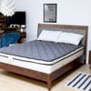 透氣表布高獨立筒彈簧設計床墊彈簧線徑升級至2.1mm平均支撐軟硬適中讓睡眠質感更提升!