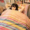 單人床包組合  20種花色可加購同款被套、兩用被台灣製造  精梳純棉(請注意:二件組無被套)