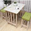 北歐日式感的高腳餐桌椅組,略帶悠閒的氣息,適合坐在其上享用一杯香濃的茶飲,享受輕鬆生活就是這麼簡單!