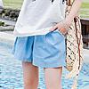 褲裙的版型可以修飾遮肉肉的大腿,穿起來不緊繃、悶熱