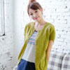 【UFUFU GIRL】直紋波浪洞洞罩衫,搭配褲裝裙裝皆宜!