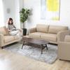 簡約風格舒適沙發椅背澎厚柔軟舒適讓視覺感到舒適的沙發組
