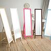 美背式鏡背 婚禮小物繽紛邊框嚴選高級松木仰角角度全身鏡面免組裝輕鬆收納