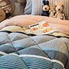 觸感舒適柔軟細緻保暖性佳十分透氣內有充棉可當棉被使用毛料商品或多或少會掉毛請勿刻意用手拔取