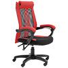 椅子 辦公椅台灣製造溫柔曲線角度 貼心設計優良機能 無段式後仰調節彈性網布