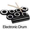 ●最強手捲電子鼓,鼓聲真實動聽●全配超多一應具全,耳罩耳機●譜架看譜一起送,遊戲光碟邊玩邊學~