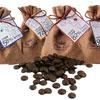 超優惠買二送一,共三包純天然可可脂,口感香醇濃郁,使用造型麻布袋包裝