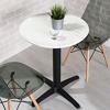 運用簡約的設計打造高雅的氣質,可當餐桌、洽談桌、休閒桌,一桌多用超實用。