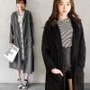 0919 高級面料!簡約大翻領風衣滑布外套,小編清單款,質感好的沒話說,現在穿剛剛好!