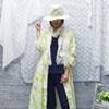 【UFUFU GIRL】做長罩衫/洋裝穿搭各有特色,幾何格點更加亮眼!