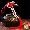 五帝錢 中國結 聚財為專化五黃煞、二黑煞之用,同時吸收天地人之氣,能提升運勢、催財運。