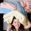 輕柔的觸感、粉嫩的色彩簡單又輕盈的呵護用珊瑚絨毯打造出寧靜的家居生活
