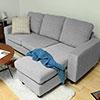 ●簡約日式居家風●可變換三人+凳使用設計●清新沉穩基本3色素雅好搭配