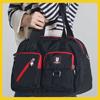防潑水專利格紋尼龍面料簡約式的包款點綴亮彩拉鍊設計豐富的色彩設計豐富你的極簡人生!
