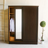 4*7三拉門衣櫥 高品質木心板 多層收納空間~!物美價廉