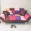 贈送二顆抱枕極簡現代風舒適激厚紮實內材扶手椅背多段式調節