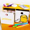 蛋黃哥桌上型橫式二抽屜收納盒 熱銷款 可放置小物、化妝品、個人雜物等