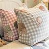 限量布製成之抱枕觸感特殊/花樣特殊布套可取下方便清洗限量發售