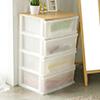 收納盒 透明 簡易 衣物櫃★木天板加寬設計更營造出溫暖的氛圍★居家必備衣物收納箱