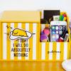 蛋黃哥 正版 立體 筆筒 單抽 收納盒 化妝品收納盒 飾盒 飾品盒可放置小物、化妝品、個人雜物等