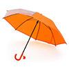 兒童雨傘總長約45cm,附有姓名標籤可註名