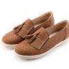 全真皮舒適柔軟兼具時尚與舒適感舒適耐走,通勤族最佳選擇本鞋款尺寸正常,選購前請確認尺寸資訊