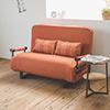 ▲6段式角度調整▲高碳鋼骨架▲高機能型沙發床