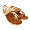最適合今夏的閃亮涼鞋,真皮內裡軟Q又好走!
