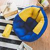 ★時尚懶骨頭系列★蛋型設計包覆力強大★座椅可攤平變身躺墊(二用)★附贈多功能小抱枕