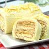 ●綿密蛋糕體和起酥片的酥脆口感。●每日限量推出,預購從速。