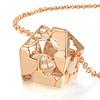 花屋藏珍珠珍珠:1顆(日本Akoya珍珠)鑽石:7顆貴金屬材質:18K玫瑰金鍊長約:47cm