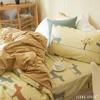 ‧100%純棉 x 水晶絨‧結合兩種布料的優點‧柔軟、纖維密度高、不易掉毛‧保暖性極佳