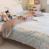 100%精選精梳棉床包活性印染技術品質保證布品平順好觸感全程台灣精製