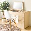 梳妝台 化妝檯  掀式化妝台★工作桌、化妝桌雙用設計款★多格式的收納抽屜★不同大小的空間收納