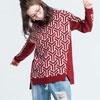【UFUFU GIRL】橫紋x蝴蝶結口袋巧妙融合,搭配V領剪裁穿搭活潑甜美風格!