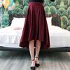 ◆ 多種顏色挑選,用打摺的方式做出傘擺的效果,前短後長的裙長可延展整體視覺感。
