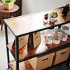 廚房收納★OSB板材超環保 ★結構穩定不易變形 ★簡易組裝不費力