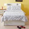 英倫簡約氣息單人床,白色個性設計,讓你房間煥然一新!