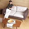 日本原裝品牌沙發日系俏麗居家,極簡的設計適合小坪數配置繽紛色彩卻又巧妙的融入居家氛圍