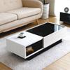 日本製的高質感茶几,木作素材與現代風格組成,讓家中更具視覺的美感。