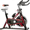 18公斤運動強度4倍全功能面板+把手正倒踩雙向運動效果一體煞車+阻力微調三段式曲柄+扣帶踏板
