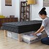 日本原裝進口彈簧懶人床日規尺寸長腳床底可收納