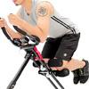 五段運動前桿角度選擇PU手肘墊+溝槽膝蓋墊輕鬆折疊結構不佔空間